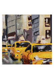 New York Taxi 6 Posters by Robert Seguin