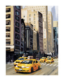 New York Taxi 1 Posters by Robert Seguin