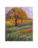 Colors of Brenham (left) Print by Erin Hanson