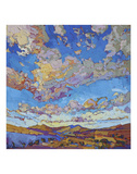 Driving Sky Poster by Erin Hanson