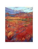 Desert Rainbow (center) Posters by Erin Hanson