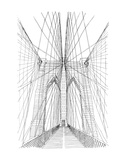 Brooklyn Industries - BK Bridge - Art Print