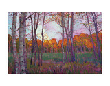 Aspens Posters by Erin Hanson