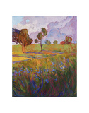 Colors of Brenham (right) Print by Erin Hanson