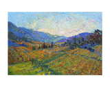 Napa in Color Prints by Erin Hanson