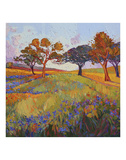 Colors of Brenham (center) Prints by Erin Hanson