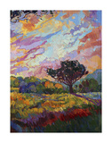 California Sky (bottom right) Posters af Erin Hanson