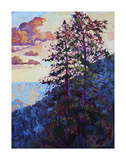 The North Rim VI Print by Erin Hanson