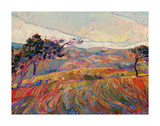 Summer in Triptych (center) Posters by Erin Hanson