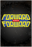 Forward Always Forward Power Block (Vert) Posters