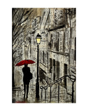 The Walk Home Prints by Loui Jover