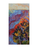 Grand Sunset (left) Print by Erin Hanson