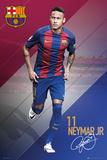 FC Barcelona- Neymar 16/17 Kunstdrucke