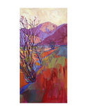 Ocotillo Triptych (right) Poster by Erin Hanson