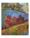 Hills in Quadtych (bottom left) Art by Erin Hanson