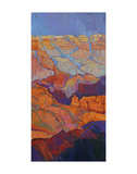 Grand Sunset (right) Print by Erin Hanson