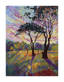 California Sky (bottom left) Posters by Erin Hanson