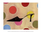 Retro Heels III Prints by Trish Biddle