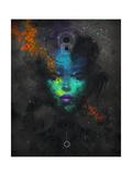Binary Black Hole Lámina por Felicia Ann
