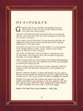 Desiderata Giclee Print by  The Inspirational Collection