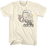 Popeye- Blow Me Down T-shirts