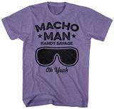 Macho Man- Savage Goggles T-Shirts