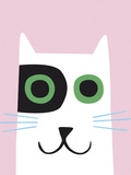 Best of Friends - Cat Giclee Print by Sophie Ledesma