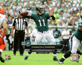 Carson Wentz First Career Touchdown Pass- September 11, 2016 with Overlay Horizontal Photo