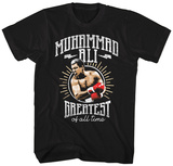 Muhammad Ali- Greatest Of All Badge T-Shirt