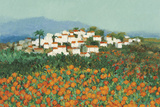 Majocar, Andalucia Giclee Print by Hazel Barker
