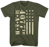 M.A.S.H- 4077Th Flag T-shirts
