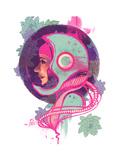 Zuri Premium Giclee Print by Felicia Ann