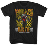 Karate Kid- Cobra Kia All Valley 81 & 83 T-shirts