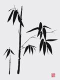 Bamboo II Giclée-tryk af Jenny Tsang