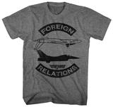 Top Gun- Foreign Relations T-Shirts