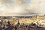 La Place De La Concorde, Paris Giclee Print by Carlo Bossoli