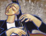 Bars Giclée-tryk af Marsha Hammel