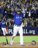 Edwin Encarnacion Game Winning Home Run 2016 American League Wild Card Game Photo