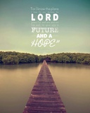 Jeremiah 29:11 For I know the Plans I have for You (Lake House Color) Posters by  Inspire Me