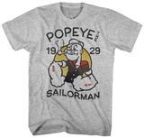 Popeye- Sailing Since 1929 Camisetas