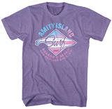 Jaws- Amity Island Surf Board Repair T-Shirt