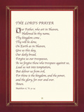 The Lord's Prayer Giclee Print by  The Inspirational Collection