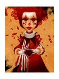 The Clown 1 Premium Giclee Print by Felicia Ann