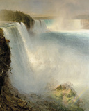 Niagara Falls from the American Side Giclee Print by Frederic Edwin Church