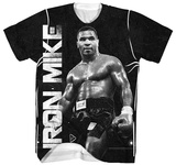 Mike Tyson- Iron Mike In Profile T-shirts
