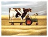 Ride To The Fair Kunstdrucke von Lowell Herrero