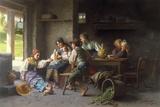Temps de jouer Impression giclée par Giovanni Battista Torriglia