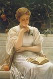 In The Orangery Giclee Print by Charles Edward Perugini