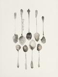 Spoon Ensemble Giclee Print by Bridget Davies