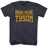 Mike Tyson- Iron Mile Block Logo Skjorter
